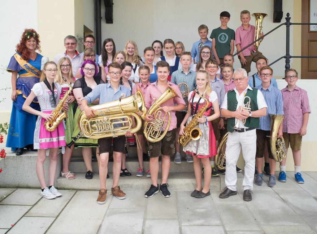 Blaskapelle Realschule Eggenfelden1