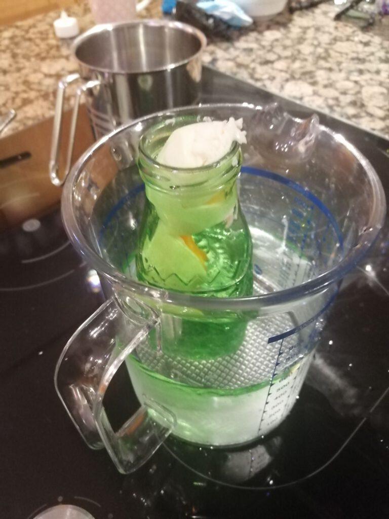 Da Ei in der Flasche_ Experiment Unterdruck
