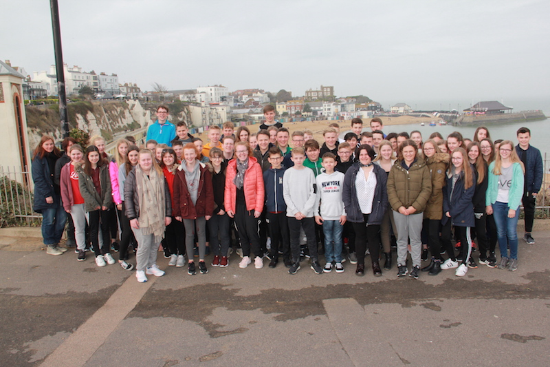 England 2018 - Group foto Beach