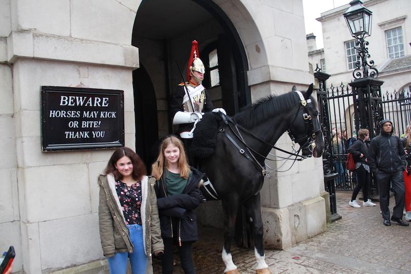England 2018 - Horseguards
