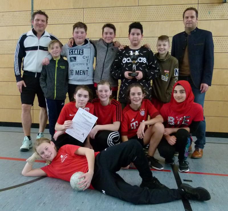 Foto Handballturnier der 6. Klassen