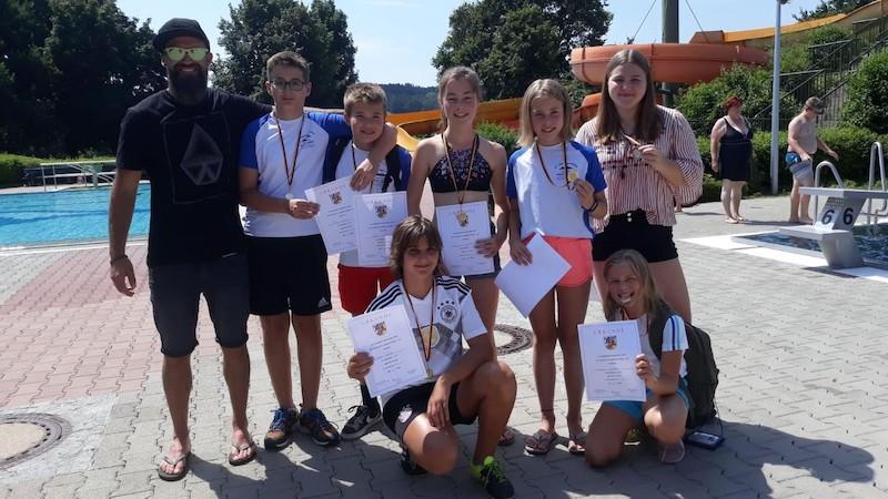 Foto Schwimm-Kreisfinale 2019