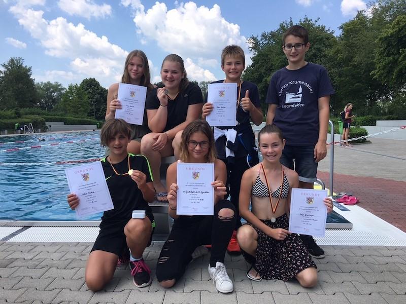 Foto Schwimmen Kreisfinale 2018